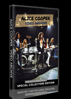 Alice Cooper - Video Archive DVD cover