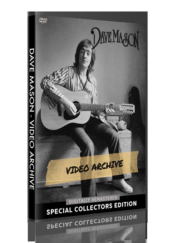Dave Mason - Video Archive