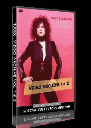 T. Rex - Video Archive Vol 1 & 2