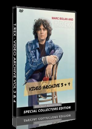 T. Rex - Video Archive Vol 3 & 4