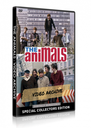 The Animals - Video Archive DVD cover