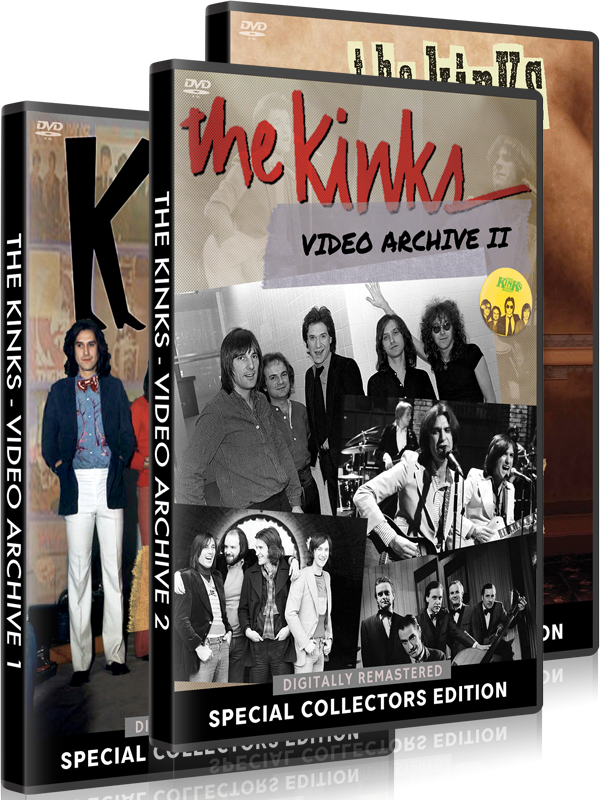 The Kinks - Video Bundle